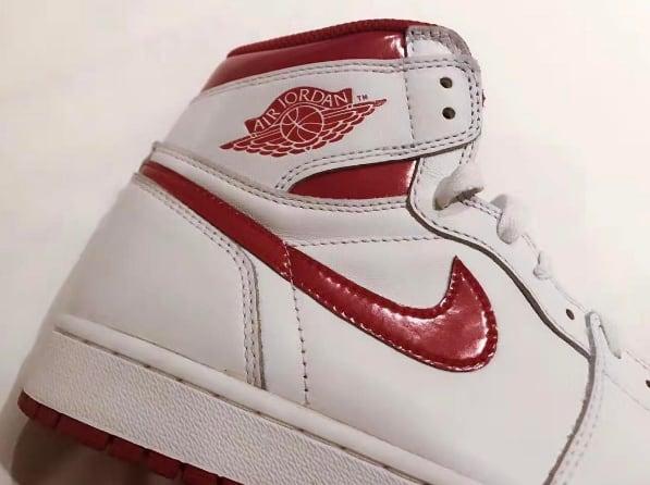 "Air Jordan 1 High OG ""Metallic Red"""