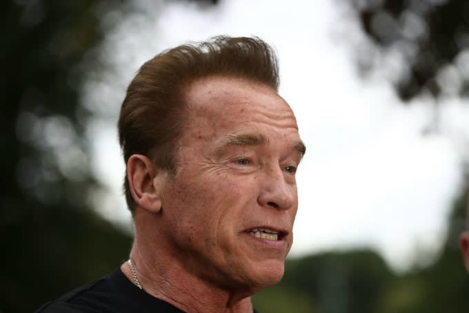 arnold schwarzenegger receives emergency open heart surgery complex