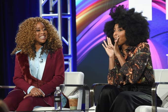 2 Dope Queens hosts Phoebe Robinson and Jessica Williams.