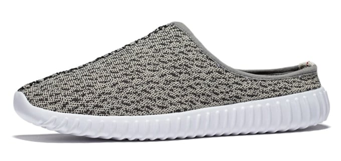 Yeezy Slippers Turtle Dove Side