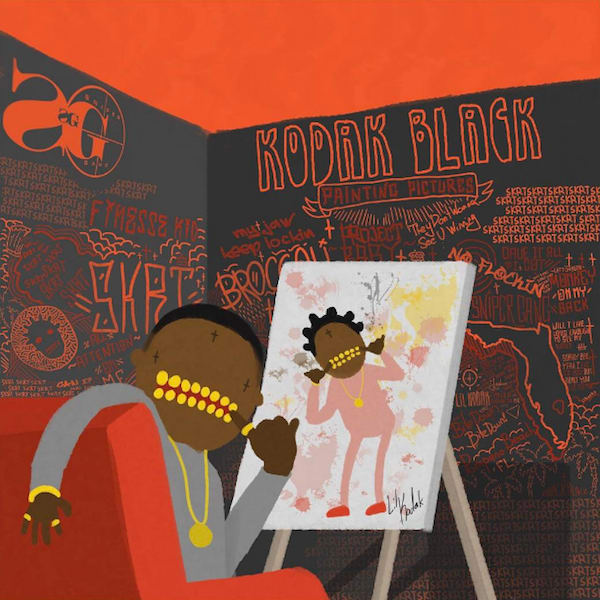 Image result for painting pictures kodak black