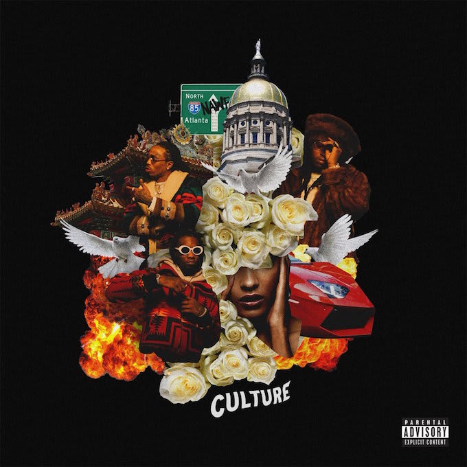 Migos 'Culture' album cover.