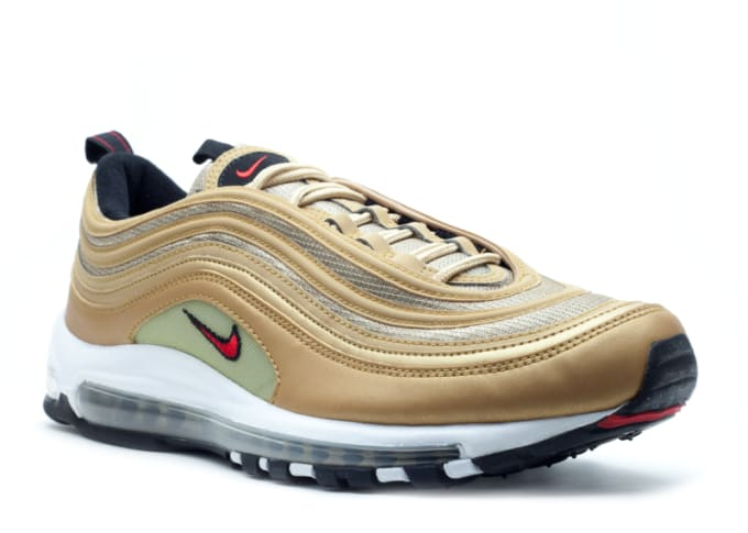 online store 56067 2c40d Nike Air Max 97 Gold