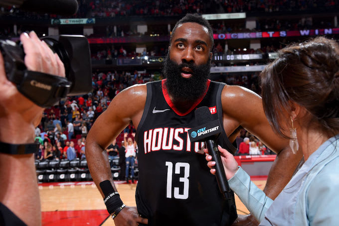 9828ae5b94df James Harden on Sitting Out Over Load Management   What Is That  I m a  Hooper