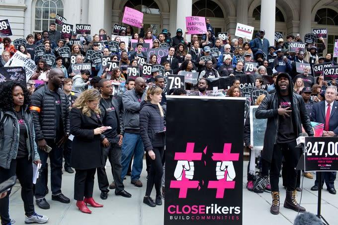 Rikers begins closing in 2018