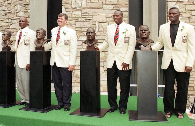 NFL Hall of Fame: Eric Dickerson, Tom Mack, Ozzie Newsome, Lawrence Taylor