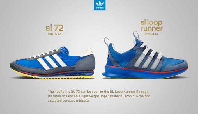 newest collection 0257c 08528 adidas-sl-72-history-by-the-drop