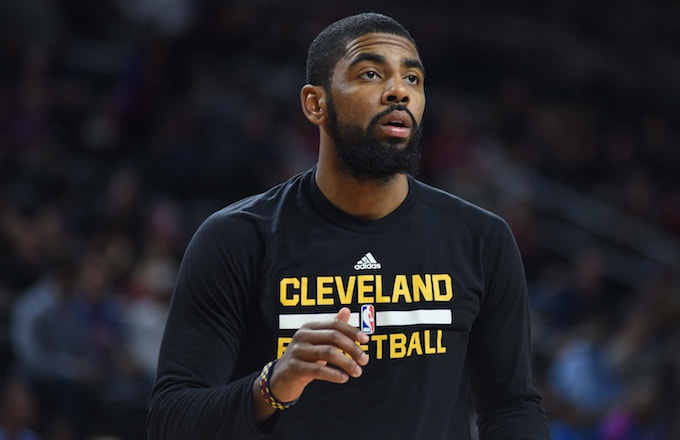 Kyrie Irving Is Paying...