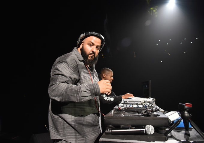 DJ Khaled performs onstage at Demi Lovato 'Tell Me You Love Me' World Tour