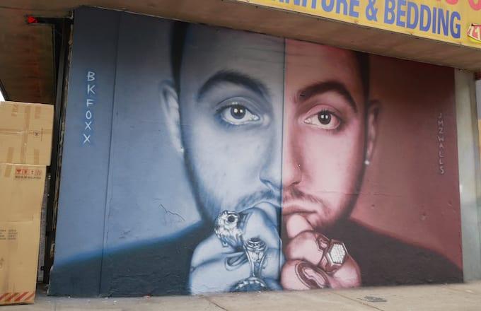 Mac Miller mural