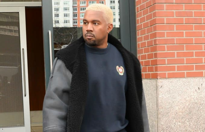 Kanye deletes social media ahead of kids' clothing line launch