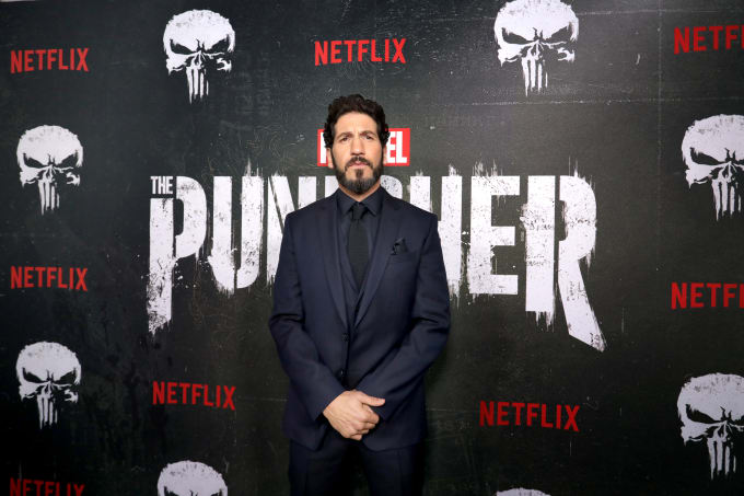 Jon Bernthal attends 'Punisher' Season 2 premiere screening in Los Angeles