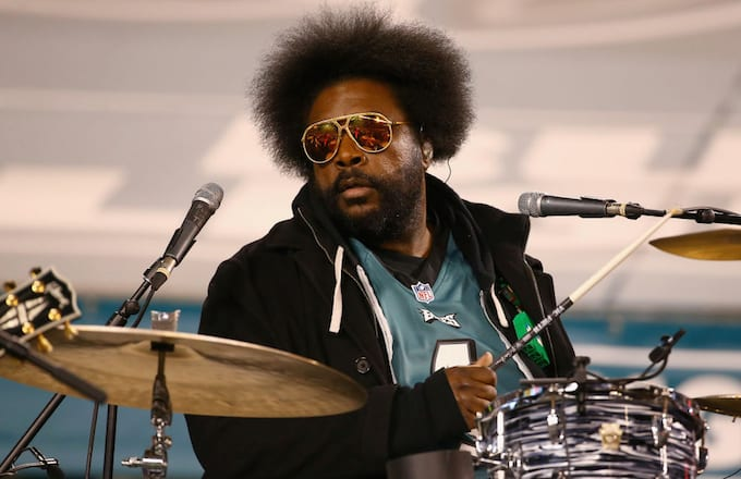 Questlove at champ game