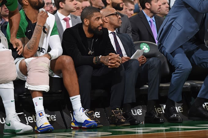 ae1fc4ee5c92 Kyrie Irving on Future With Boston Celtics   I m Going to Do What s ...