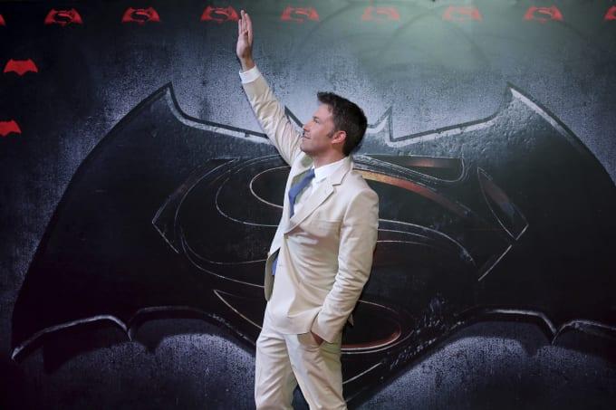en Affleck during the Batman v Superman Premiere at Auditorio Nacional