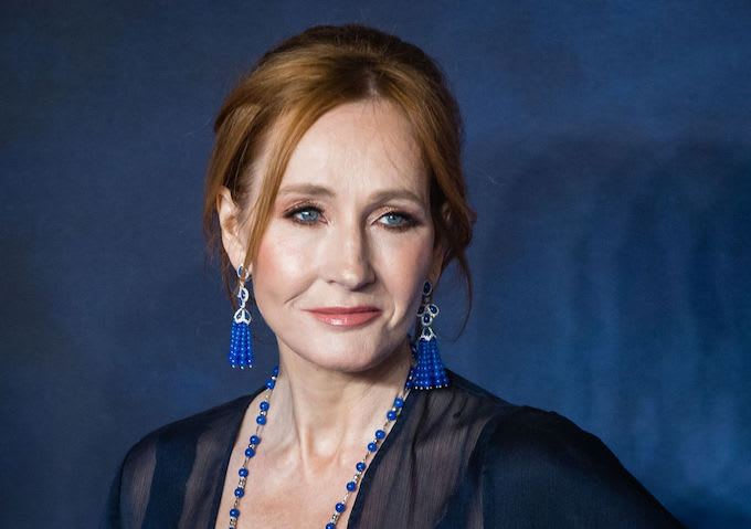 This is JK Rowling.