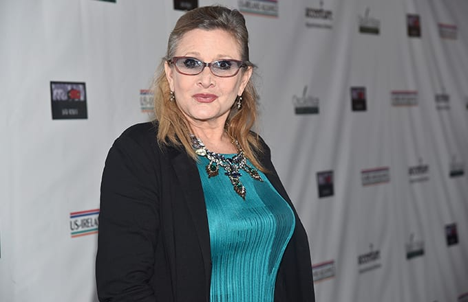 carrie fisher s brother says appearance episode ix part looks