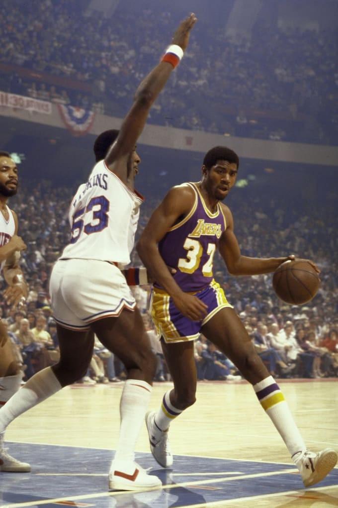 Magic Johnson, 1979-80 - The Best Rookies In NBA History ...