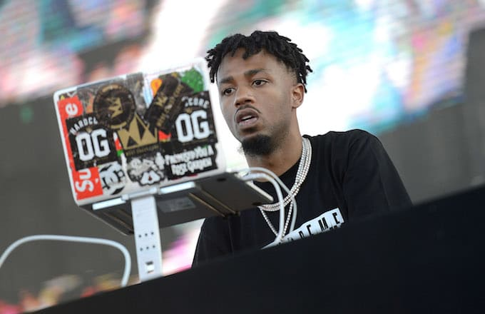 Metro Boomin performing in California