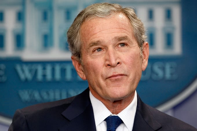 George W Bush Throws Pizza Party For Unpaid Secret Service Workers