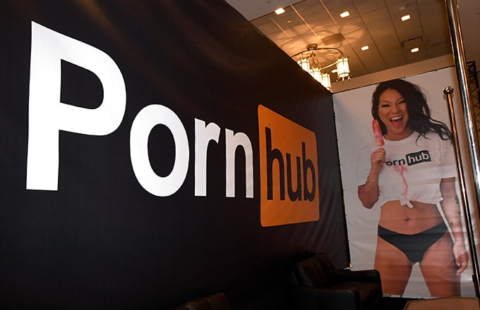 This is a photo of Pornhub.