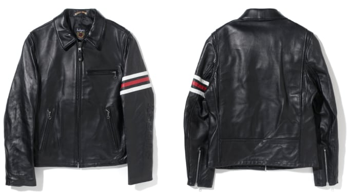 Stussy x Schott NYC Limited Edition Rider's Jacket