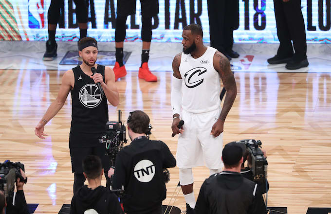 Steph Curry, LeBron James 2018 NBA All-Star Draft