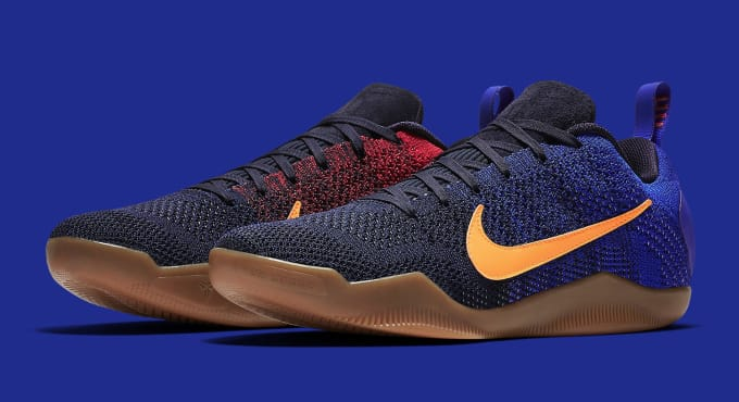 Nike Kobe 11 Mambacurial Barcelona 844130-464