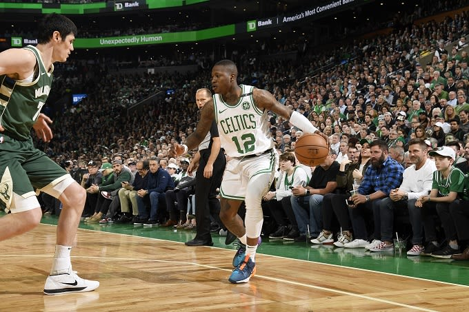 3407948bff24 Celtics  Terry Rozier Seems Done With Boston After Disappointing Season