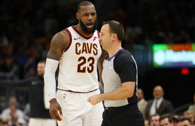 43193b63aeb LeBron James and His Teammates Respond to Him Getting Ejected for the First  Time in His NBA Career