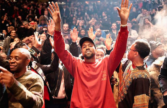 4691c8406298e8 Kanye West Debuts