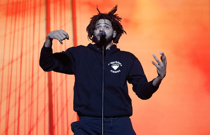 Watch Footage Of Raid On J. Cole's Home Studio That Inspired
