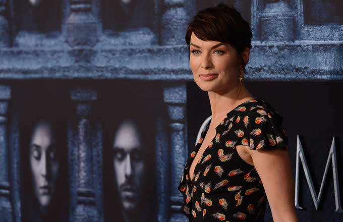 This is a photo of Lena Headey.