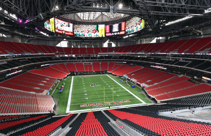 How Was Mercedes Benz Stadium Funded