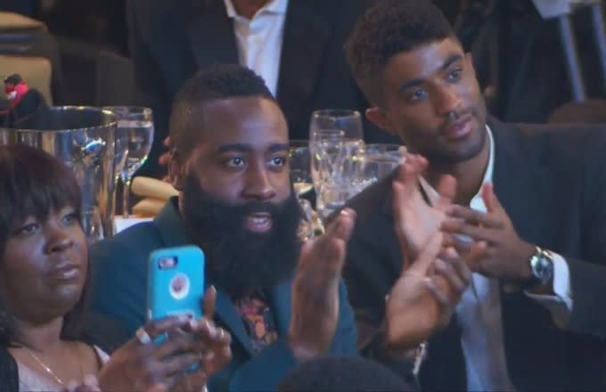 9eb8d4a21429 James Harden Was Ready to Risk It All for Nicki Minaj at the 2017 ...
