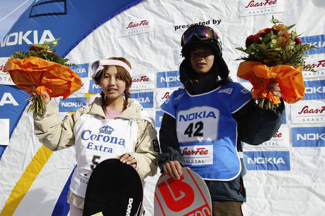 Melo Imai of Japan (L) and Kazuhiro Kokubo of Japan (R).