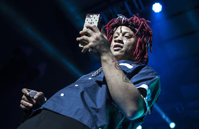 This is a photo of Trippie Redd.