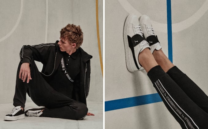 3fb874551223 PUMA and Karl Lagerfeld Collaborate for an Iconic Drop to Celebrate 50  Years of PUMA Suede