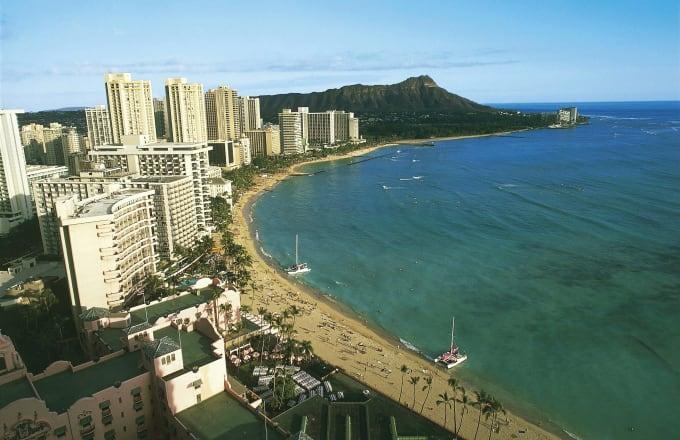 Waikiki Beach, Oahu Island, Hawaii, United States of America