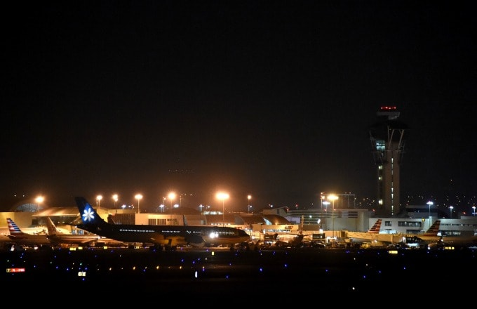 Flights were grounded at LAX following reports of an active shooter.