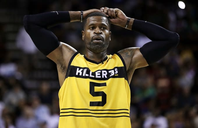 Stephen Jackson plays in the Big 3.