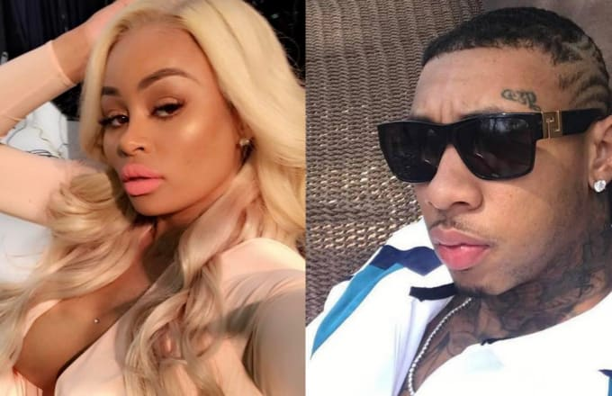 Images via @BlacChyna and @KingGoldChains