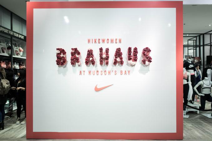 def2398afc1c65 NikeWomen Hosts BraHaus Toronto Pop-Up Shop