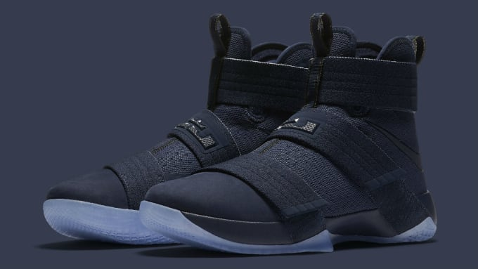 1557dfc7401 Nike LeBron Soldier 10 Midnight Navy Release Date Main 844378-444