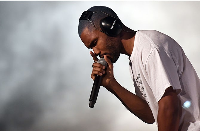 This is a photo of Frank Ocean.