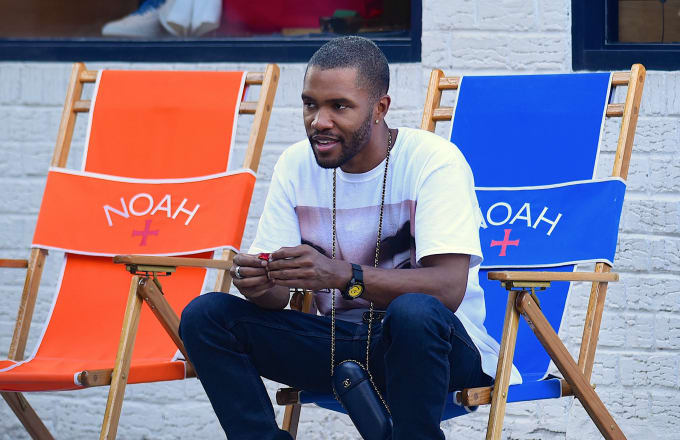 Frank Ocean and his guy friend seen out and about in SoHo