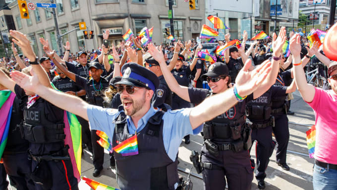 Pride Toronto Requests Police Withdraw Parade Application