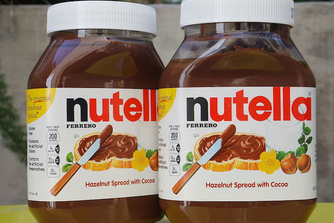This is a picture of Nutella.