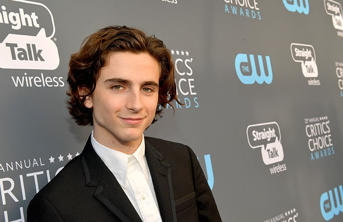 This is a photo of Timothee.