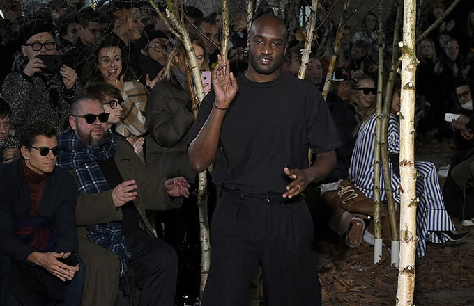 This is a photo of Virgil Abloh.